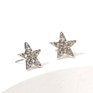 🍒New Crystal Star Stud Earrings